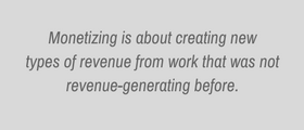 Monetizing Client Advisory Services