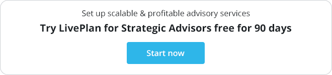 Get listed in LivePlan Expert Advisory Directory